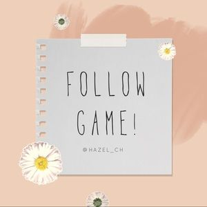 ✨🌸 FOLLOW GAME 🌸✨